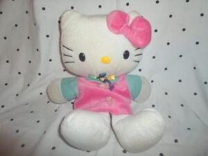 "SanRio Hello Kitty Hand Puppet 11"" Plush Soft Toy Stuffed Animal"