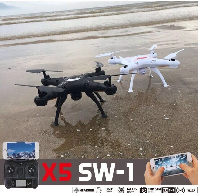 X5SW-1 Pro bianca Wifi FPV Camera Drone 2.4Ghz RTF 4CH RC with 0.3MP Quadcopter
