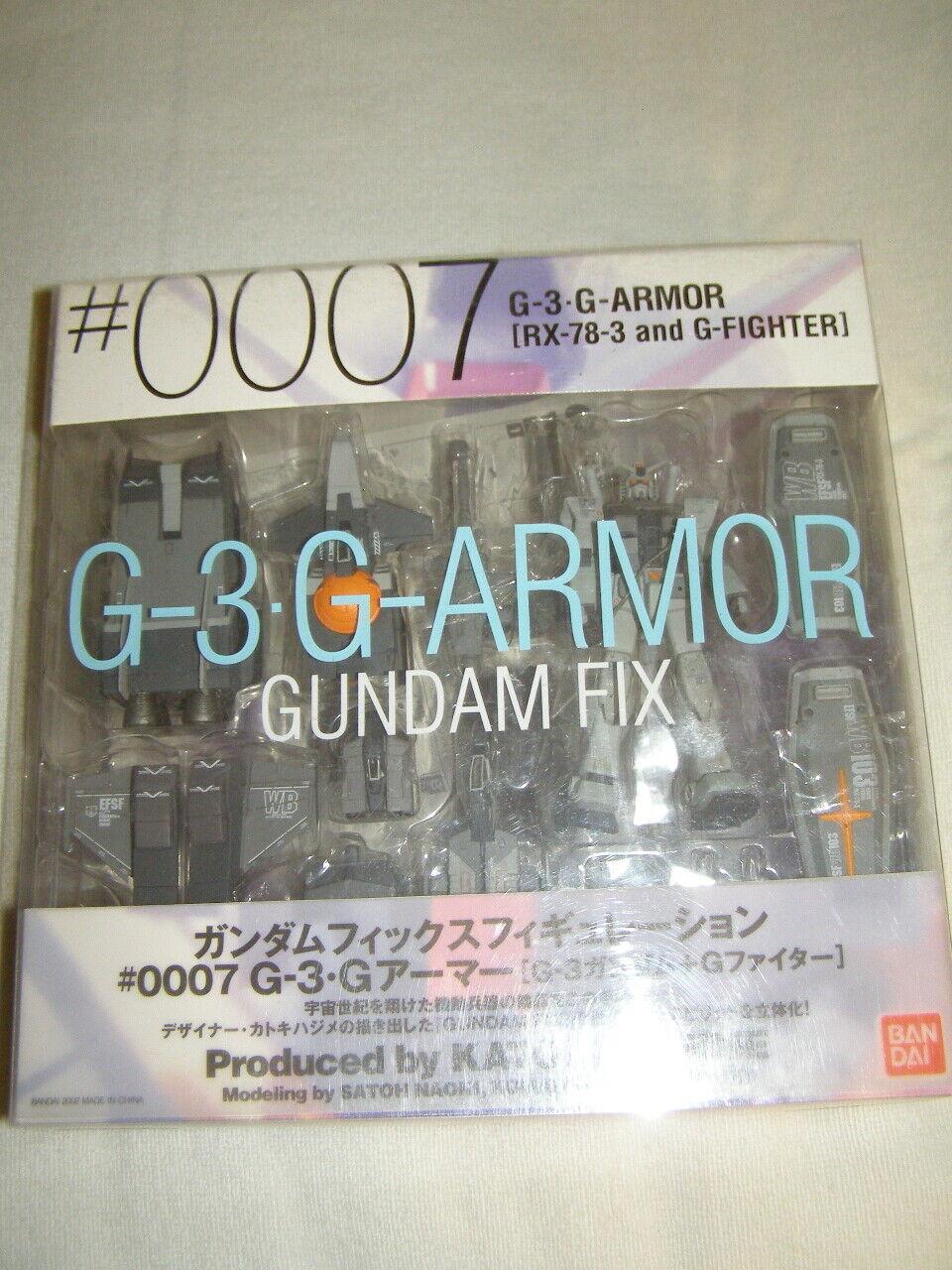 0007 Gundam Fix figuración G-3 armadura G (RX-78-3 y G-Fighter) Figura De Acción