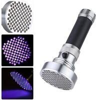 Ultraviolet Uv Flashlight 100led Bead Spot's Light For Authenticate Receipt