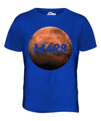 Planète Mars T-Shirt Homme Tee Top cadeau Espace