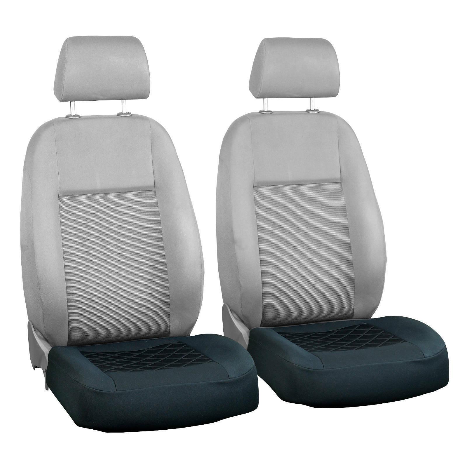 Schwarze Sitzbezüge nur untere Teil passen zu allem LANCIA Autos Vorne