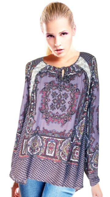 NWT Printed Oversize Tunic Top by Umgee USA