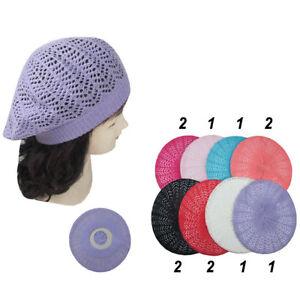 4de3d53c4a0 12pcs Women Winter Baggy Crochet Knit Slouchy Beanie Beret Cap Hat ...