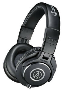 Audio-Technica ATH-M40x Professional Studio Monitor Headphones.Authorized Dealer