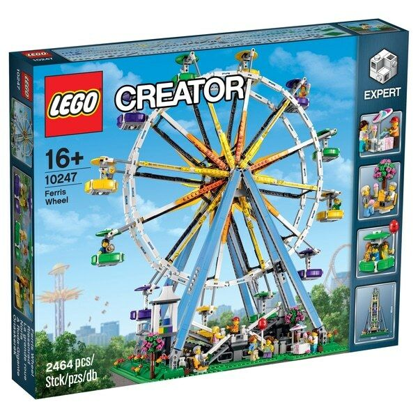 LEGO Creator Expert (10247) Ferris Wheel (Brand New & Factory Sealed) A