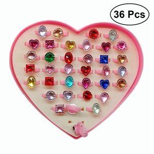 36Pcs Wholesale Mixed Lots Cute Cartoon Children/Kids Rings Jewelry Gifts  Hot 725862670313 | eBay