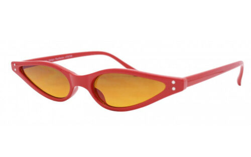 Slim Triangular Ladies 90s Style Fashion Cat eye sunglasses Womens