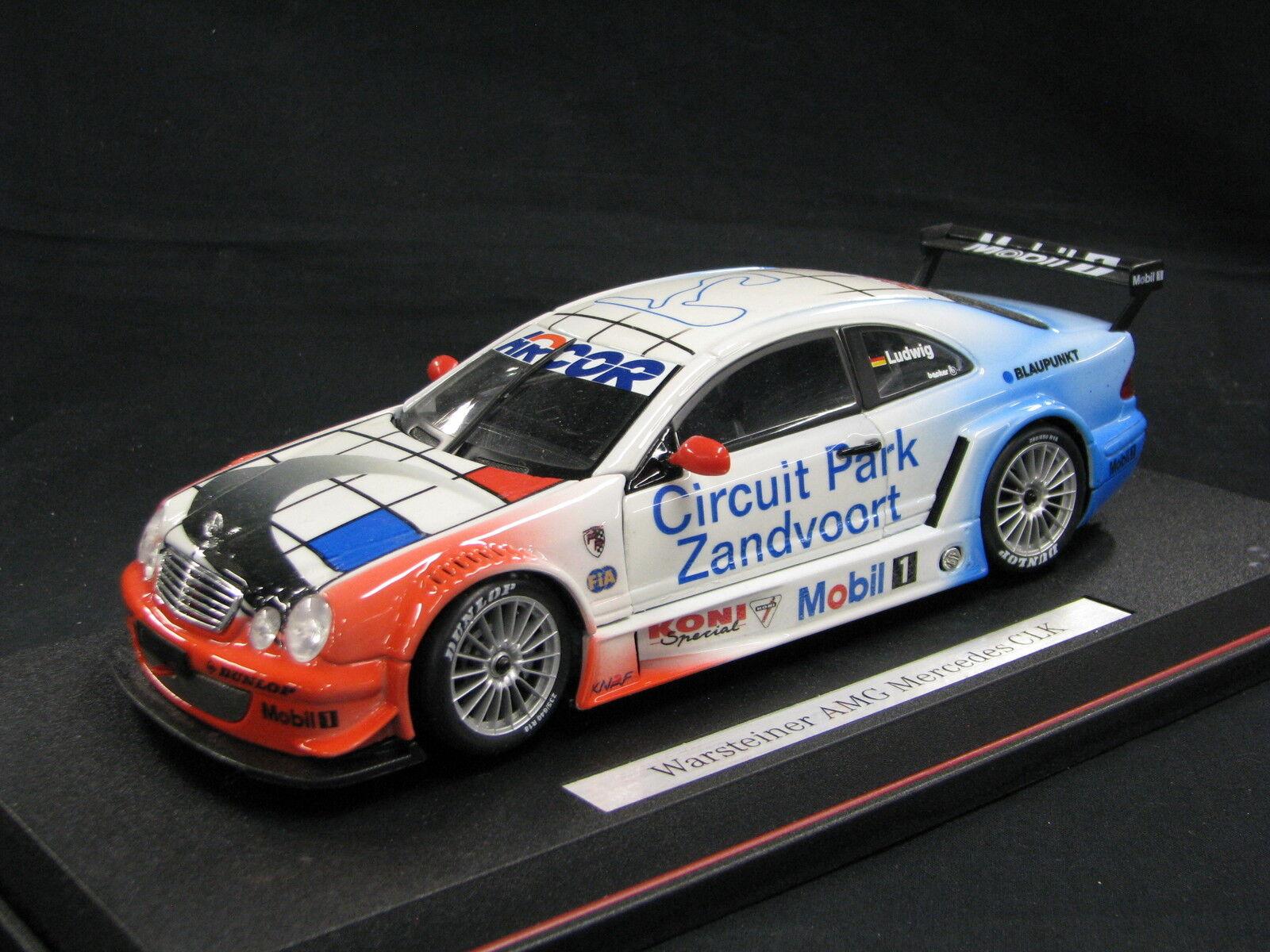 Maisto Mercedes-Benz CLK DTM 2000 1 18 DTM Zandvoort (NED) Events Car (JS) DV