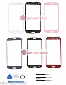 Front-screen-glass-replacement-part-for-Samsung-Galaxy-s3-SIII-Phone-Display-New