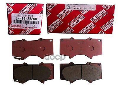 Front Toyota Disc Brake Pad Set Part Number 04465-35290 Lexus Sequoia Tundra