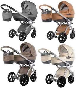 Knorr-Baby-Kinderwagen-Alive-Pure-Leder-Optik-Zubehoer-FARBWAHL-2580