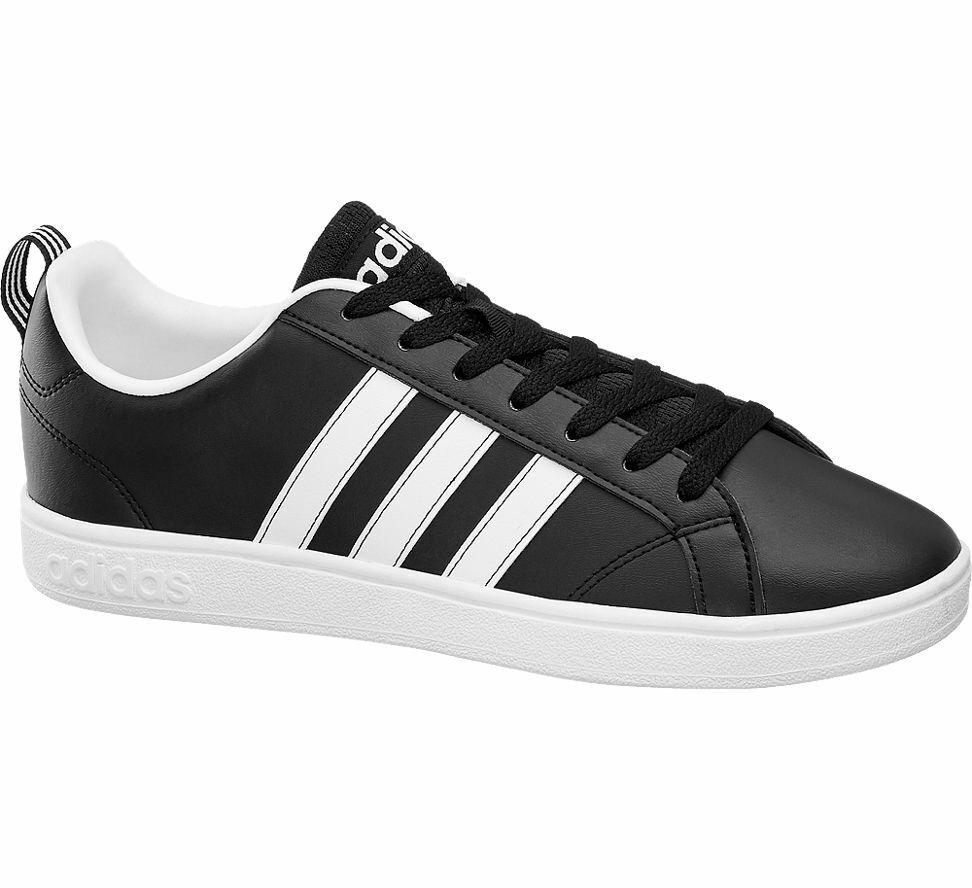 Adidas Herren Turnschuhe VS ADVANTAGE schwarz Neu