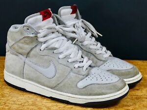 Nike Dunk High Pro SB Pee-Wee Herman 10.5 - 2007 air zoom heather ... b06261ea3846