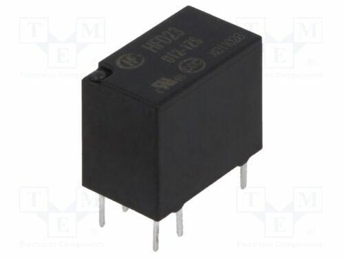 HFD23//012-1ZS Relay: electromagnetic 1A//30V 0.5A//125VAC Ucoil:12VDC SPDT