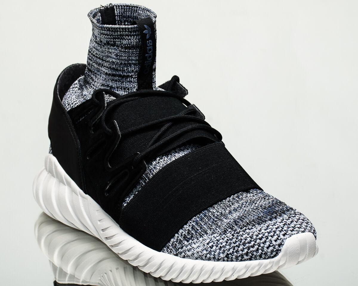 Adidas Originals Tubular Doom Primeknit PK men Turnschuhe grau schwarz BY3550