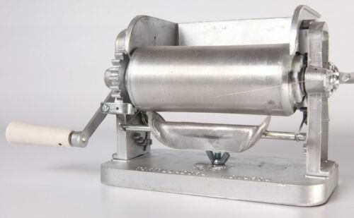 Made in Mexico Monarca Manual Flower//Corn Aluminum Tortilla Maker Roller Press