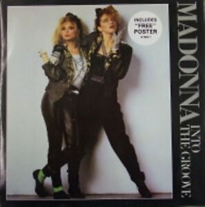 Madonna-Into-The-Groove-NEW-MINT-RARE-Original-UK-12-034-vinyl-single-WITH-POSTER