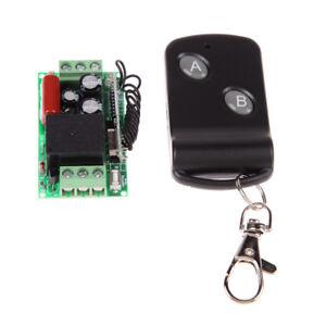 220V-1-Kanal-315MHz-433MHz-Fernbedienung-Schalter-Empfaenger-Mit-Fernbedienung