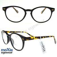 Bifocal Reading Glasses Unisex Retro Keyhole Bridge Hipster Cool Specs Moxie