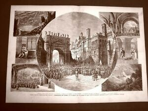 Parigi-nel-1882-Teatro-dell-039-Opera-Francesca-da-Rimini-Opea-di-Barbier-e-Carre
