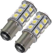 2x 1157 P21/4W BAY15D 24SMD LED Auto Bremslicht Rücklicht Licht Lampe Birne Weiß