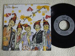 """DIE TOTEN HOSEN - Schöne Bescherung 7"""" Single Virgin Rec. 1988"""