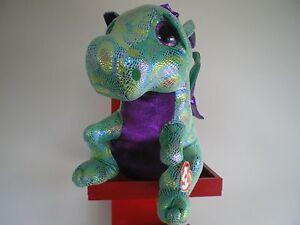 6ec4a3e5a15 Ty Beanie Boos CINDER the dragon 17 inch NWMT.LARGE 40cm.FREE POST ...