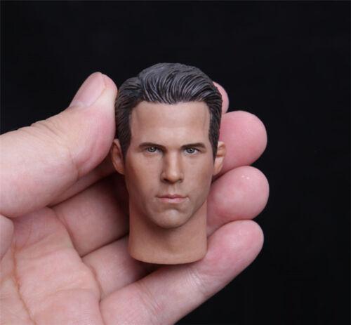 1//6 Scale Deadpool Ryan Reynolds Head sculpt Model Normal Ver F 12/'/' Male Body
