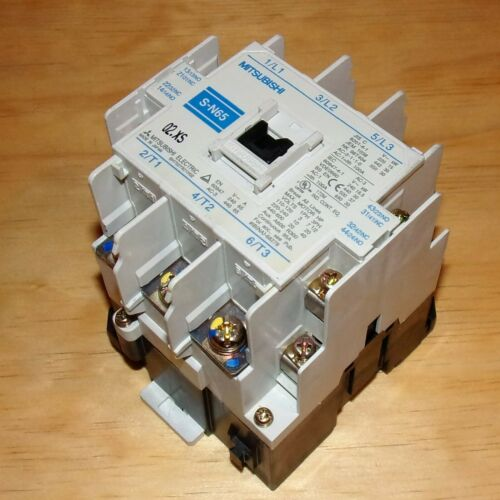 Mitsubishi Electric 200-240VAC Coil 95A Continuous Magnetic Contactor S-N65