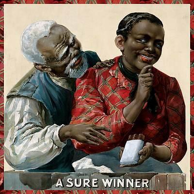 A SURE WINNER Vintage Cigar Smoking Tobacco Ad Art Print Poster circa 1895 24x24