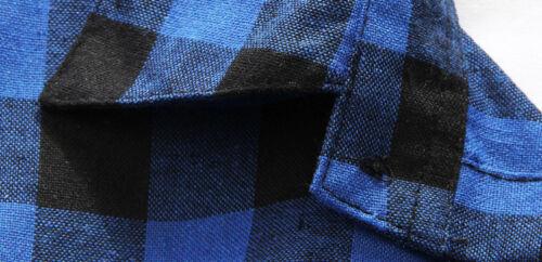 HOT Summer Mens Casual Shirts Short Sleeve Lattice Shirts Slim Fit Shirts Tops