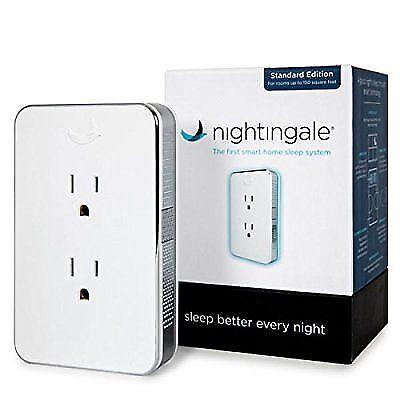 Cambridge Nightingale Smart Home Sleep System, Standard Edition White NG2000 NEW