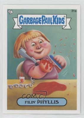 Trading Card Singles 2012 Topps Garbage Pail Kids Brand New Series 1 #31a Filin' Phyllis Card 2f4 We Take Customers As Our Gods Collectibles