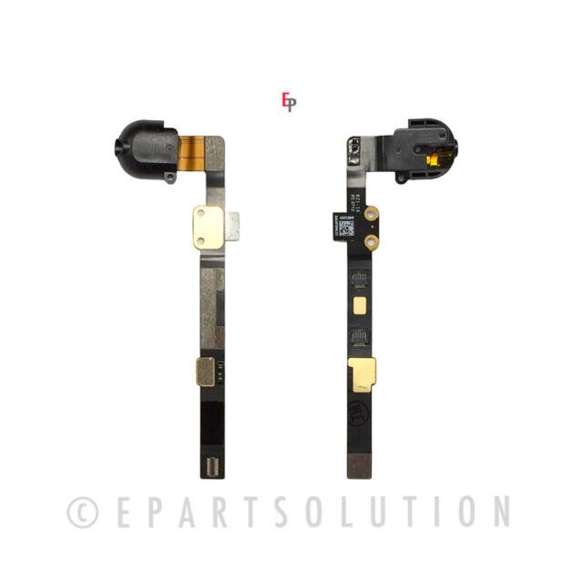 Black Apple iPad Mini 3 Headphone Audio Jack Flex Cable Repair Part USA Seller