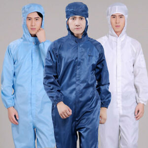 Mens Womens Boilersuit Coverall Overall Workwear Tuff Work Royal Pant Jumpsuit