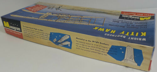 WRITGHT BROTHERS KITTY HAWK MODEL KIT MADE BY MONOGRAM AVIATION