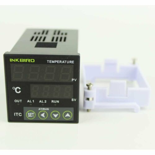 110V Digital PID Temperature Controller Thermostat control brewing heating fan