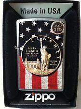 Zippo  Collectible  Lighter Liberty Dollar and US Flag