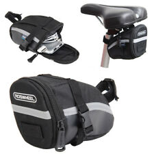 Outdoor Bike Bicycle Cycling Strap-on Saddle Bag Tail Rear Pouch Seat Storage