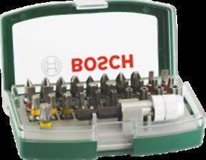 Bosch Rainbow Set 32 Bit accessori per trapani avvitatori