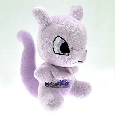"New 6"" Pokemon Mewtwo Rare Cute Soft Plush Toy Doll ^PC2647"