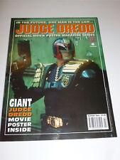 2000 AD Comic - JUDGE DREDD Movie Poster Magazine Prog - No 2 Fleetway Comic