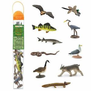New Species 2020.Details About Great Lakes 2020 Safari Ltd Toob 100264 Mini Figure Set With Storage Case