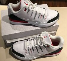 02efcc5ac0935f item 2 NIKE ZOOM VAPOUR AJ3 AIR JORDAN 3 FEDERER WHITE CEMENT FIRE RED UK  MEN S SIZE 10 -NIKE ZOOM VAPOUR AJ3 AIR JORDAN 3 FEDERER WHITE CEMENT FIRE  RED UK ...