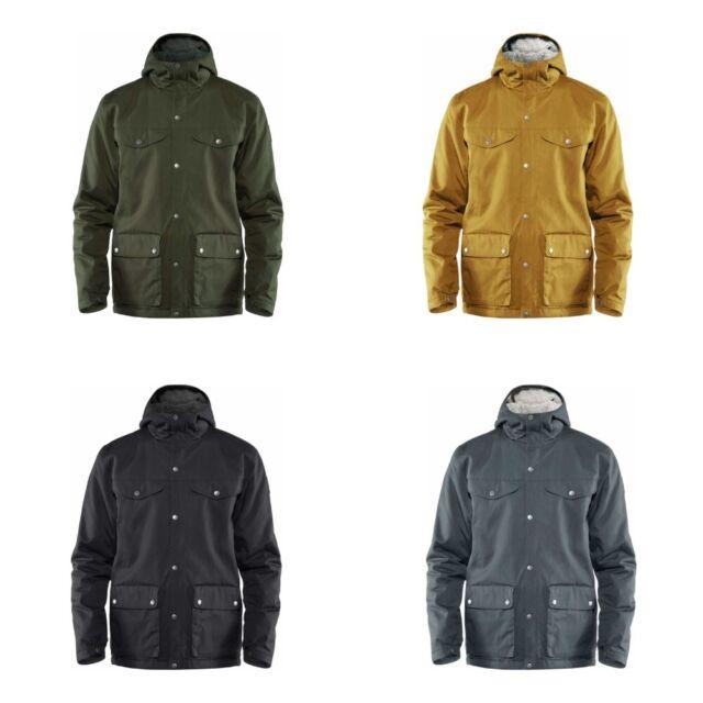 FJALLRAVEN G 1000 GREENLAND Winter Jacket hooded 81434 green