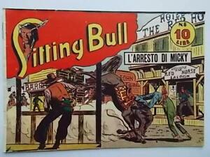 l'arresto di micky albo saturniasitting bull81949fumetti western Marijac Dut
