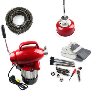 250W-400-u-M-Electric-Drain-Pipe-Cleaner-Cleaning-Machine-Spirals
