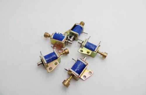 DC 12V 24V Push Pull Type Open Frame Actuator Micro DC Solenoid Electromagnet