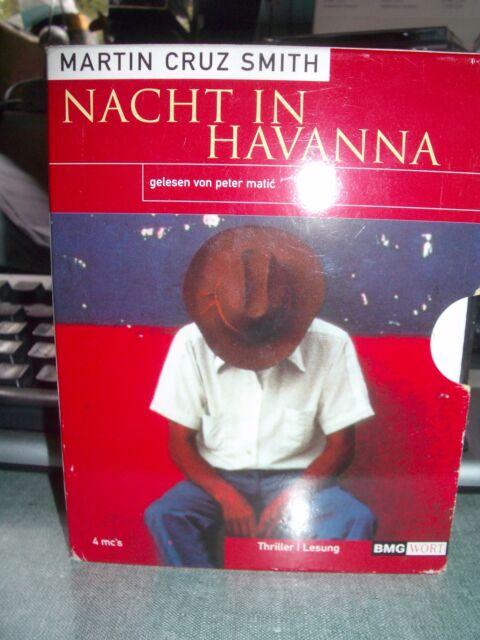 Nacht in Havanna von Martin Cruz Smith 4 Kassetten ISBN: 9783898300698